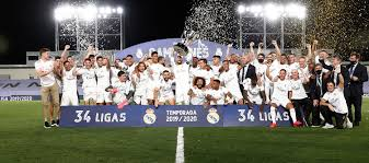 Real Madrid: La LIGA champions for the 34th time