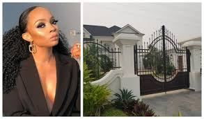 All that glitters are not GOLD: AMCON allegedly seize Toke Makinwa's Mansion: Am still the owner- Makinwa replies